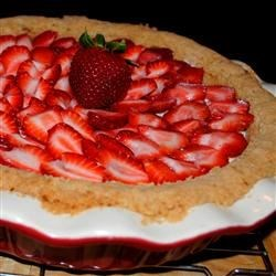 Deni's Strawberry Cheese Pie Recipe