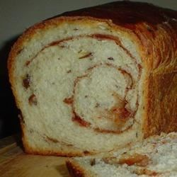 Photo of Sourdough Cinnamon Raisin Bread by kate