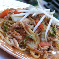 Yakisoba Chicken Recipe