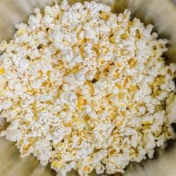 Sesame Parmesan Popcorn