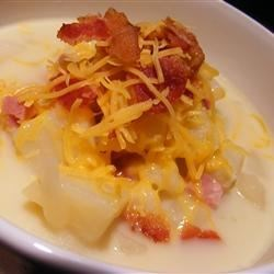 Allana's Excellent Potato Soup Recipe