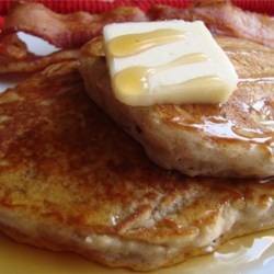 Mom's Applesauce Pancakes Recipe