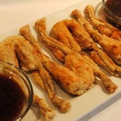 Butter Fragranced Frog Legs Recipe