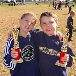 Michael and Timmy Soccer 2009