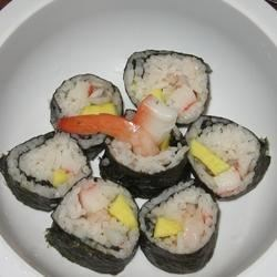 first time making sushi