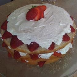 Triple delight strawberry shortcake
