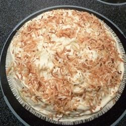 Old Fashioned Coconut Pie by April Smith of AHA MEDIA