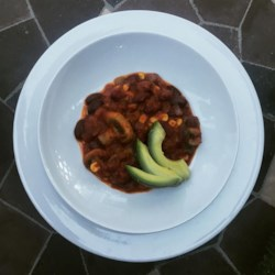 vegan taco chili review by ely