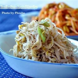Photo of Korean Boiled Bean Sprouts Salad by Phoebe Chung