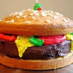 bacon cheeseburger cake photos