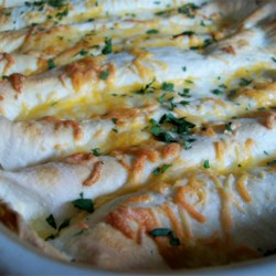 Whit's Chicken Enchiladas Recipe