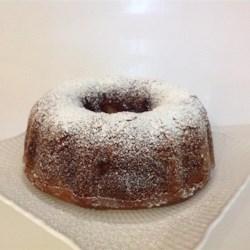 Delicious applesauce cake recipe