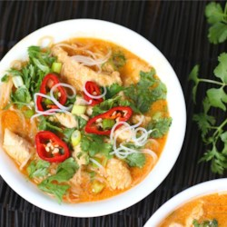 Quick and easy recipes allrecipes four ingredient red curry chicken recipe this thai red curry chicken with just 4 forumfinder Image collections