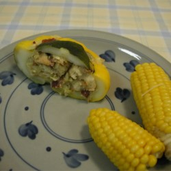 Stuffed Pattypan Squash Recipe