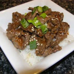 Korean Barbequed Beef Recipe