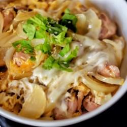oyakodon japanese chicken and egg rice bowl printer friendly