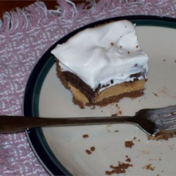 Chocolate Peanut Butter Pie bliss!