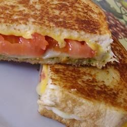 Pesto Grilled Cheese Sandwich |