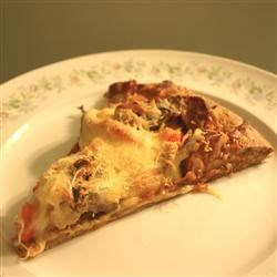 Chicken and Chourico Pizza Recipe