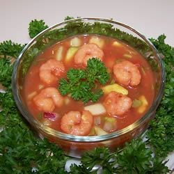 Shrimp Gazpacho Recipe
