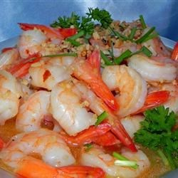 Sizzling Sherry Shrimp with Garlic