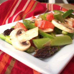 Image of Asparagus Tomato Salad, AllRecipes