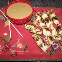 Satay with Peanut Sauce I