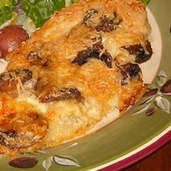 Photo of Mushroom Chicken Parmesan by Pat Donahue