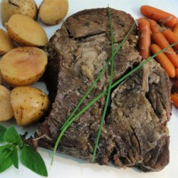 Marie's Easy Slow Cooker Pot Roast Recipe