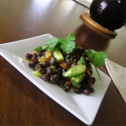 Image of Avocado Asian Black Bean Salad, AllRecipes