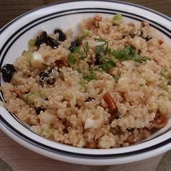 Quinoa Salad with Dried Fruit and Nuts Recipe