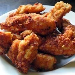 Breaded Chicken Fingers Recipe