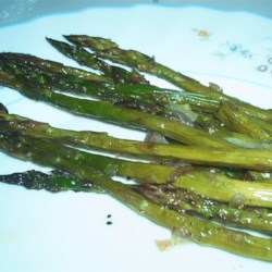 Roasted Asparagus with Shallots Recipe