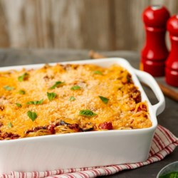 Baked Spaghetti from Borden(R) Cheese