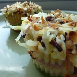 Pineapple Coconut Cupcakes