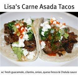 Lisa's Carne Asada Tacos
