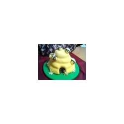 My beehive cake!