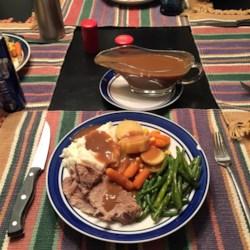 Tangy Slow Cooker Pork Roast