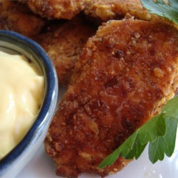 Isaiah's Pretzel Fried Chicken Recipe