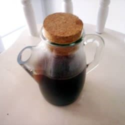Billy's Favorite Gingerbread Spiced Coffee Syrup