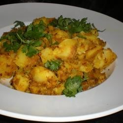Curried Cumin Potatoes |
