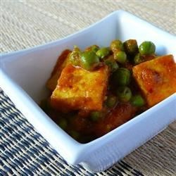 Indian Matar Paneer (Cottage Cheese and Peas) Recipe