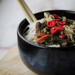 asian inspired vegetable noodle bowl printer friendly