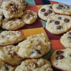 Coconut Almond Cookies Recipe