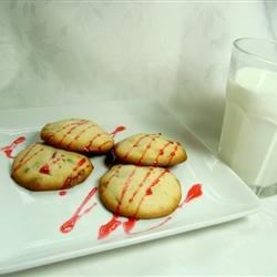 Raspberry Chocolate Cookies Recipe