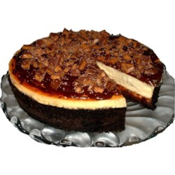 Toffee Chunk Cheesecake Recipe