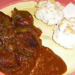 Easy Slow Cooker Carne Guisada Recipe