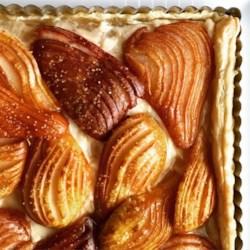 Hasselback Pear Tart