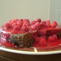 Flourless Chocolate Raspberry Cake