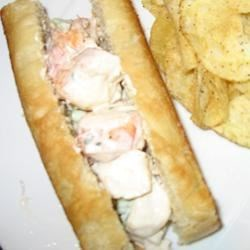 Lobster Roll on homemade buns